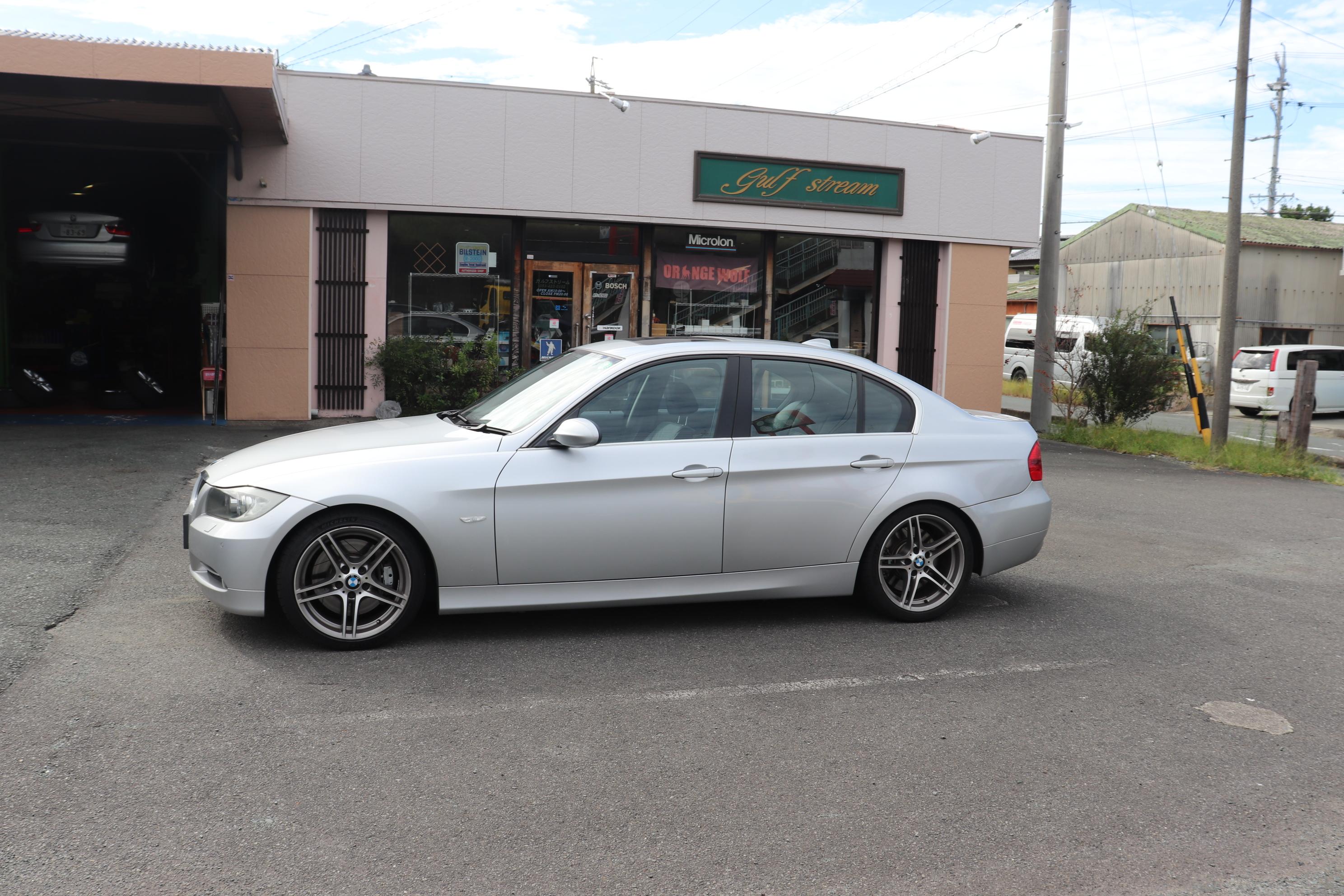 BMW E9X 335 にアルピナATプログラミング(B3プログラミング)