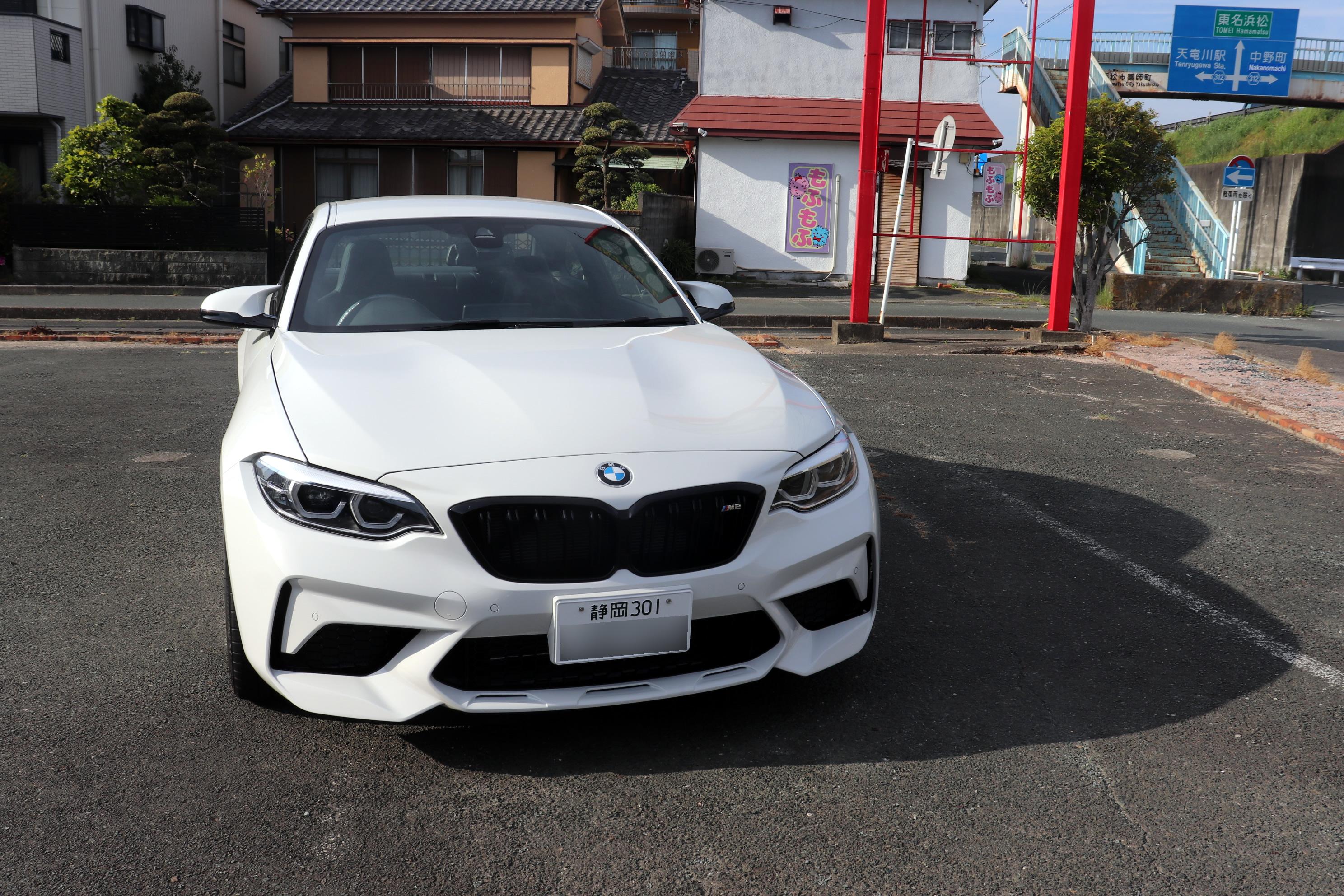 BMW F87 M2 コンペティション 納車準備完了