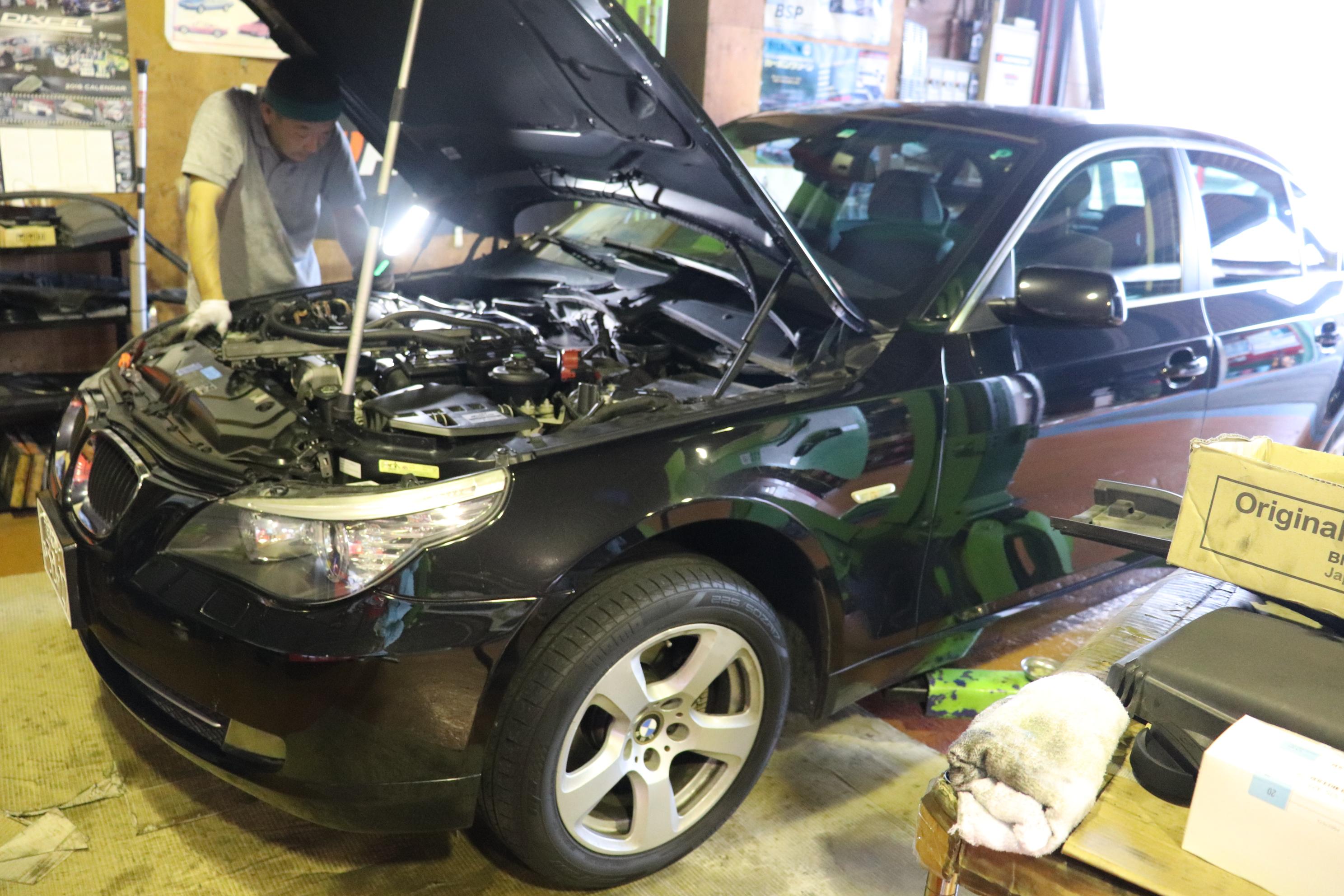 BMW E60 525 車検整備