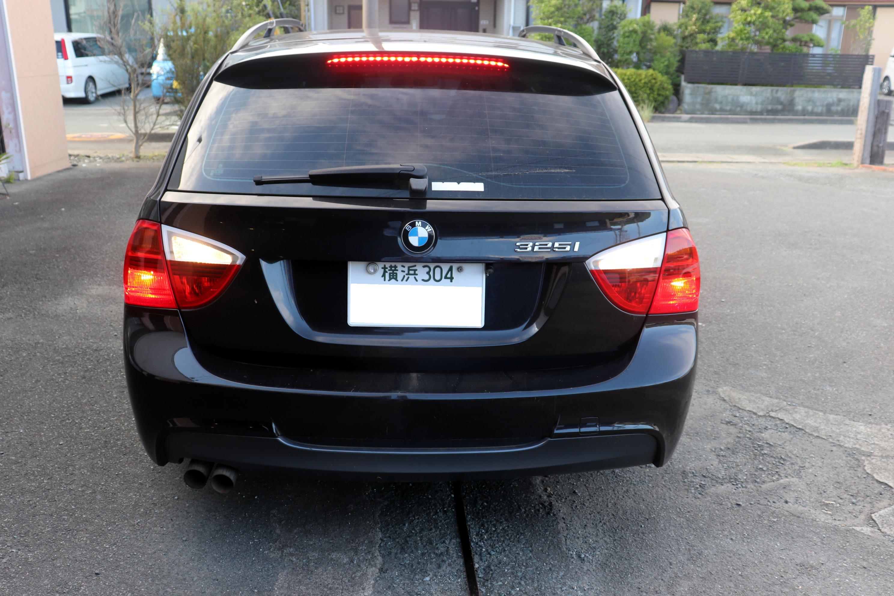BMW E91 325i オレンジウルフ ECDキット&カーボンLSD お取り着け